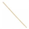 image of Hooked Bamboo Crochet Hook 4mm