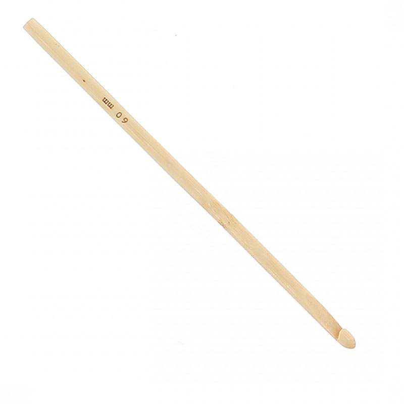 Image of Hooked Bamboo Crochet Hook 6mm